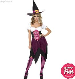 Smiffys *DISC* Colourful Cutie Witch Small