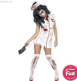 Smiffys Zombie Nurse Costume
