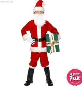 Smiffys Deluxe Child Santa Costume
