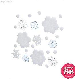 Smiffys Christmas Gel Window Stickers