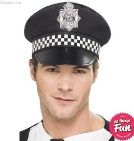 Smiffys Police Panda Cap