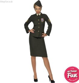 Smiffys *Star Buy* Wartime Officer Costume