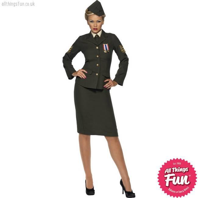 Smiffys *Star Buy* Wartime Officer Costume