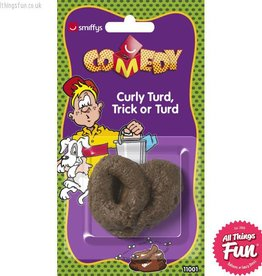 Smiffys Trick Curly Turd