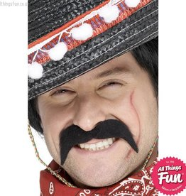 Smiffys Black Mexican Bandit Tash