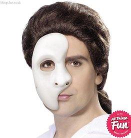 Smiffys White Phantom Mask