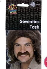 Smiffys Brown Seventies Tash