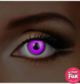 Funky Vision I Glow Violet Cosmetic Lens - 90 Day