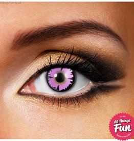 Funky Vision Purple Witch Cosmetic Lens - 90 Day