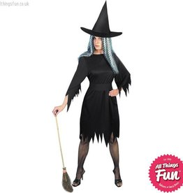 Smiffys Spooky Witch Costume