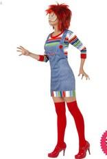 Smiffys Chucky Ladies Costume
