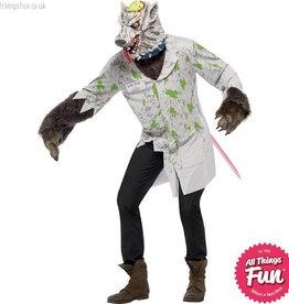 Smiffys *DISC* Experiment Lab Rat Costume