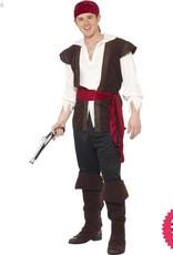 Smiffys Men's Pirate Costume