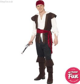 Smiffys Men's Pirate Costume