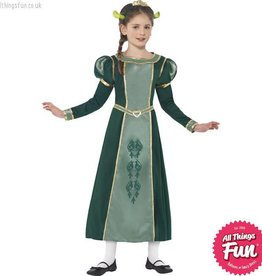 Smiffys Shrek Princess Fiona Costume