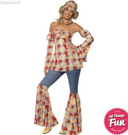 Smiffys Vintage Hippy 1970's Costume