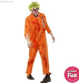 Smiffys Zombie Death Row Inmate