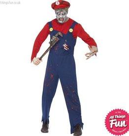 Smiffys Zombie Plumber Costume