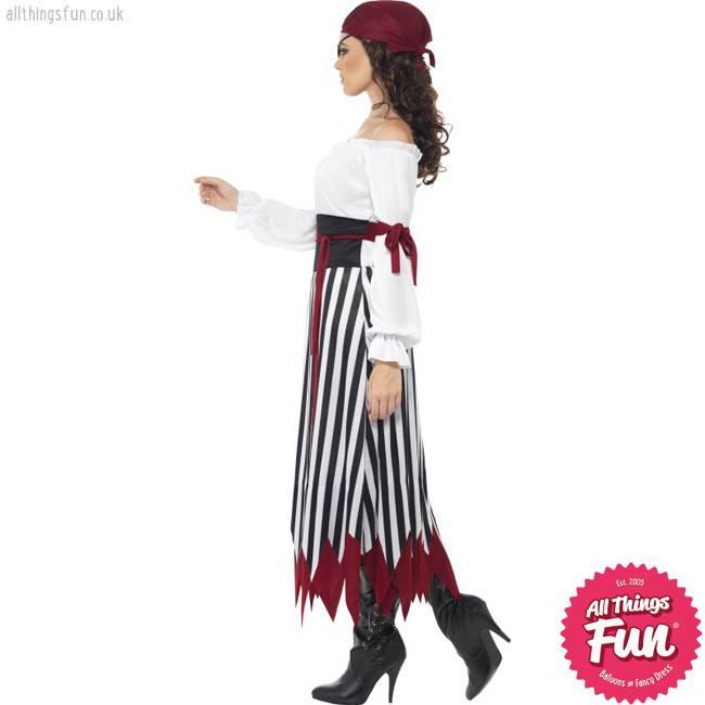 Smiffys Adult Pirate Lady Costume