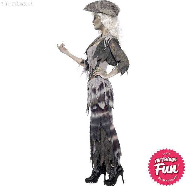 Smiffys Ghost Ship Ghoulina Costume