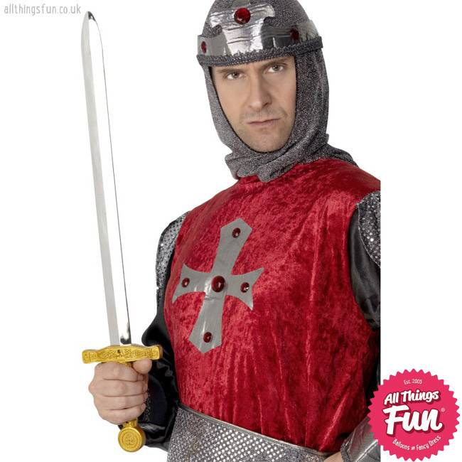 Smiffys Knights Silver Sword