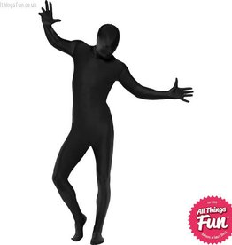 Smiffys Black Second Skin Suit