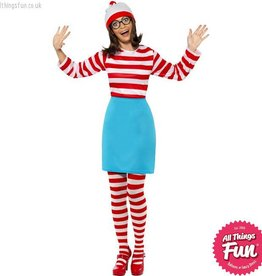 Smiffys Where's Wally? Wenda Costume