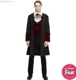 Smiffys Male Fever Gothic Vamp Costume