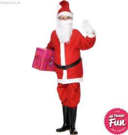 Smiffys Santa Boy Costume