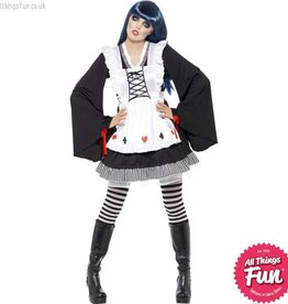 Smiffys *DISC* Gothic Alice Costume Medium