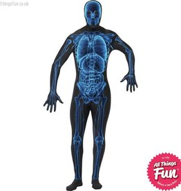 Smiffys X Ray Costume, Second Skin Suit