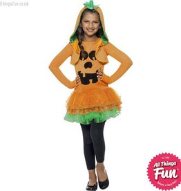 Smiffys Pumpkin Tutu Dress Costume