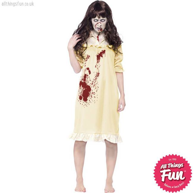 Smiffys *DISC* Zombie Sinister Dreams Costume