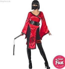 Smiffys Shadow Warrior Costume