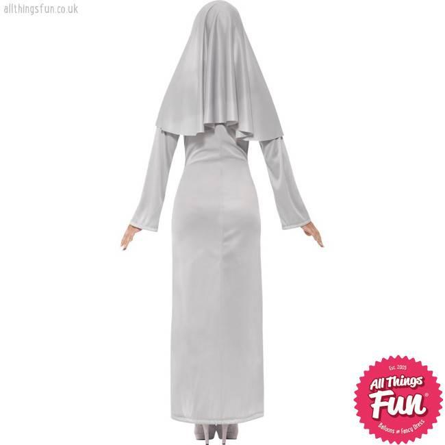 Smiffys Gothic Nun Costume