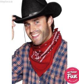 Smiffys Red Cowboy Bandana