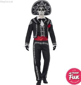 Smiffys Day of the Dead Senor Bones Costume