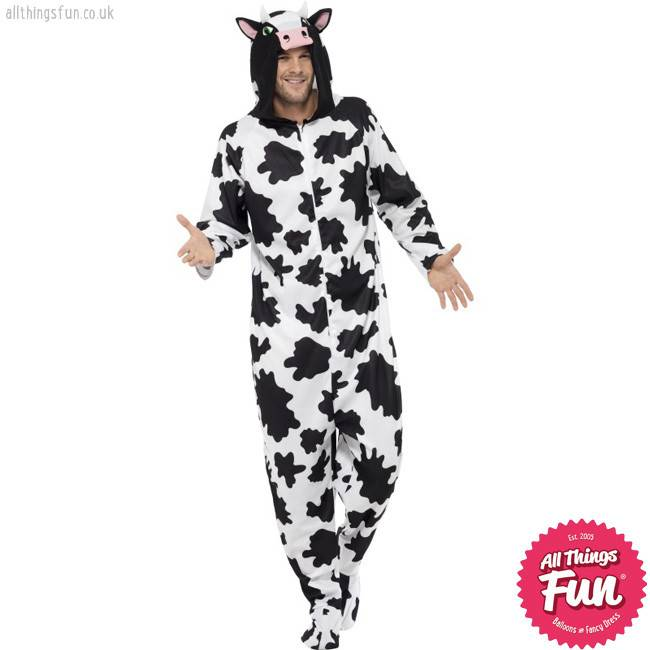 Smiffys Adult Cow Costume