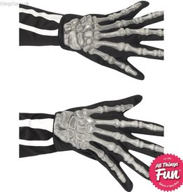 Smiffys *SP* Adult Skeleton Gloves