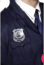 Smiffys Metal Police Badge