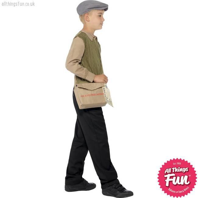 Smiffys Evacuee Boy Kit