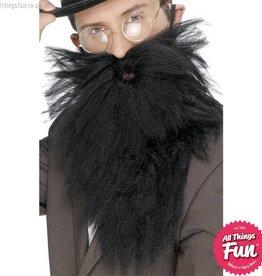 Smiffys Black Long Beard & Tash