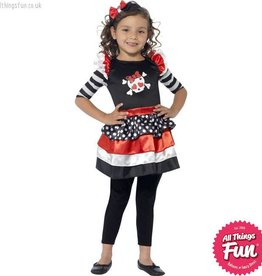 Smiffys *DISC* Skully Girl Costume
