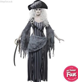 Smiffys Ghost Ship Princess Costume