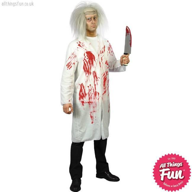 Smiffys Doctor's Coat with Blood Medium