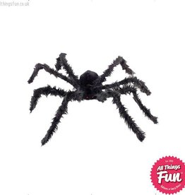 Smiffys *SP* Giant Black Hairy Spider with Light Up Eyes