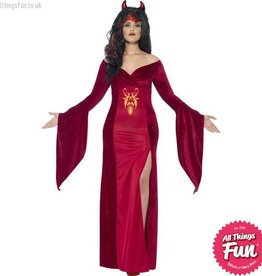 Smiffys Curves Devil Costume
