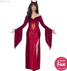 Smiffys *DISC* Curves Devil Costume