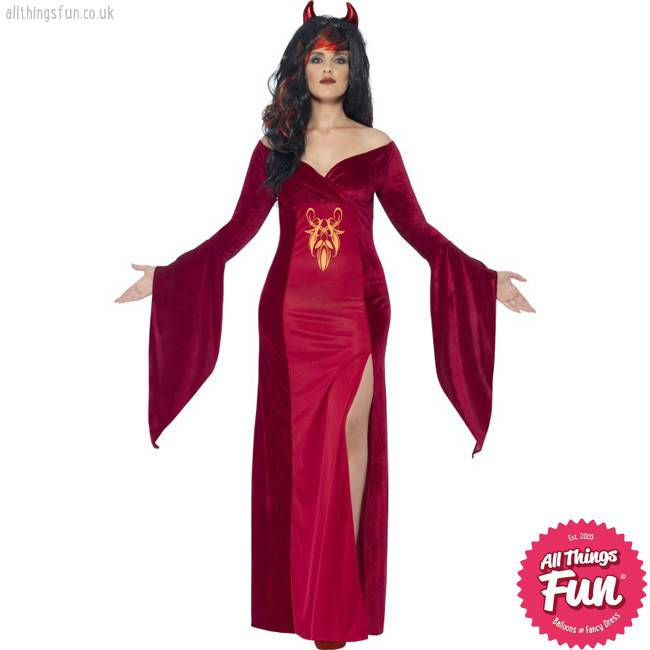 Smiffys *DISC* Curves Devil Costume