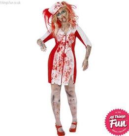 Smiffys Curves Zombie Nurse Costume